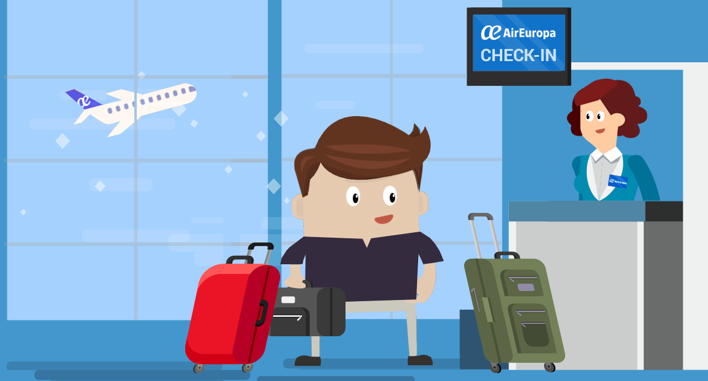 facturar equipaje air europa
