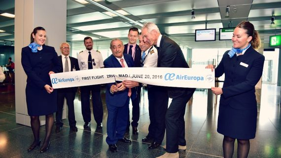 zurich, vuelo inaugural, suiza
