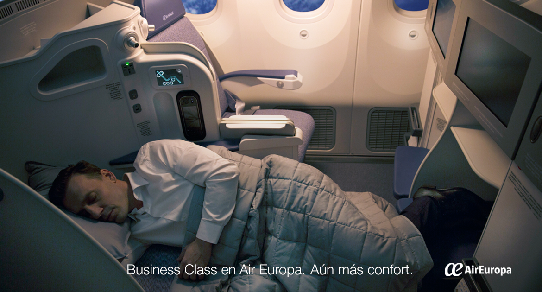 clase business air europa, primera clase,