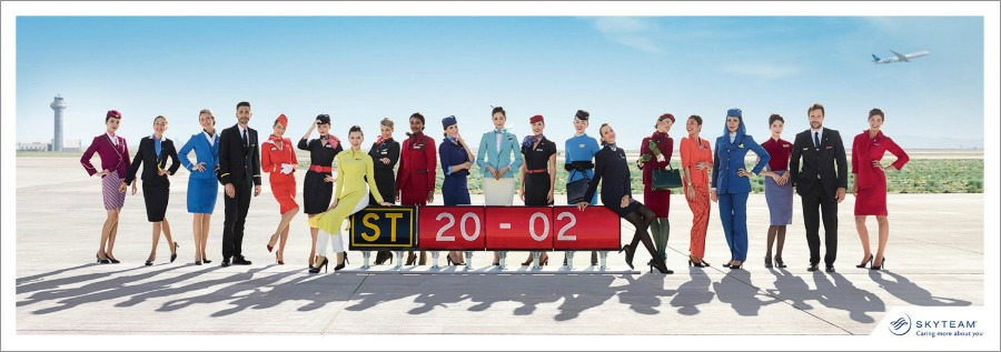 skyteam, around the world
