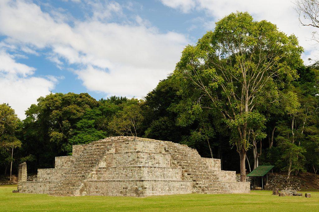 Copán Ruinas, Honduras, Mayas, Pirámide