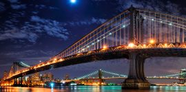 Mahattan at night, nueva york de noche, new york at night