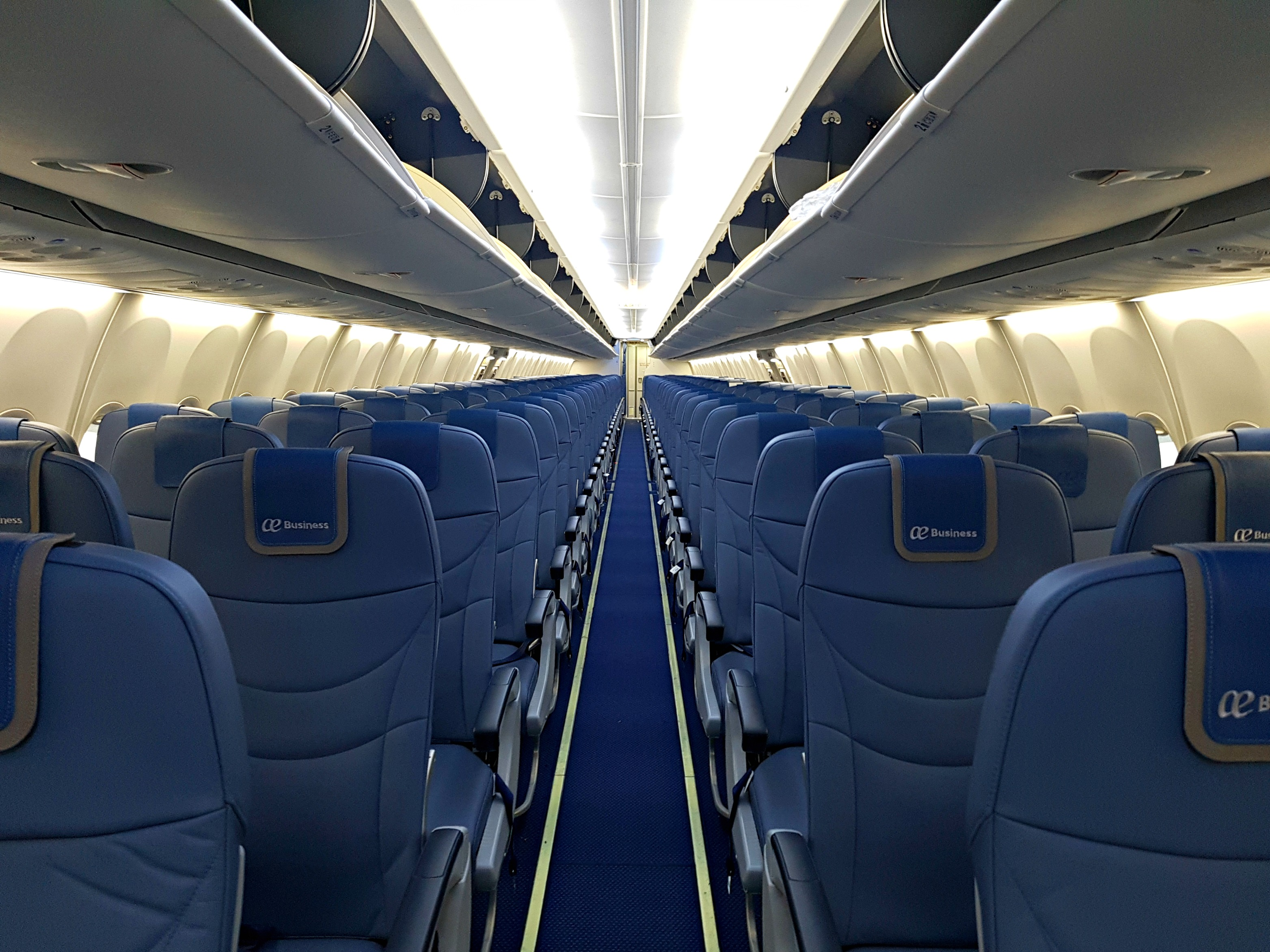 New boeing 737 800 s with wifi and streaming billete 996 for Interieur 737