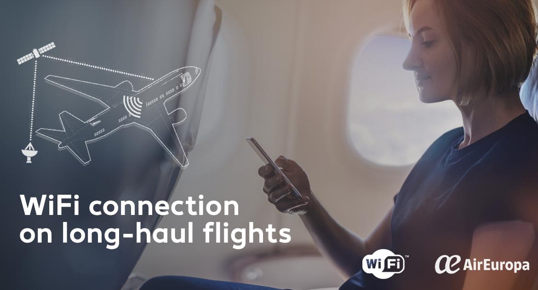 WiFi On The air, air europa