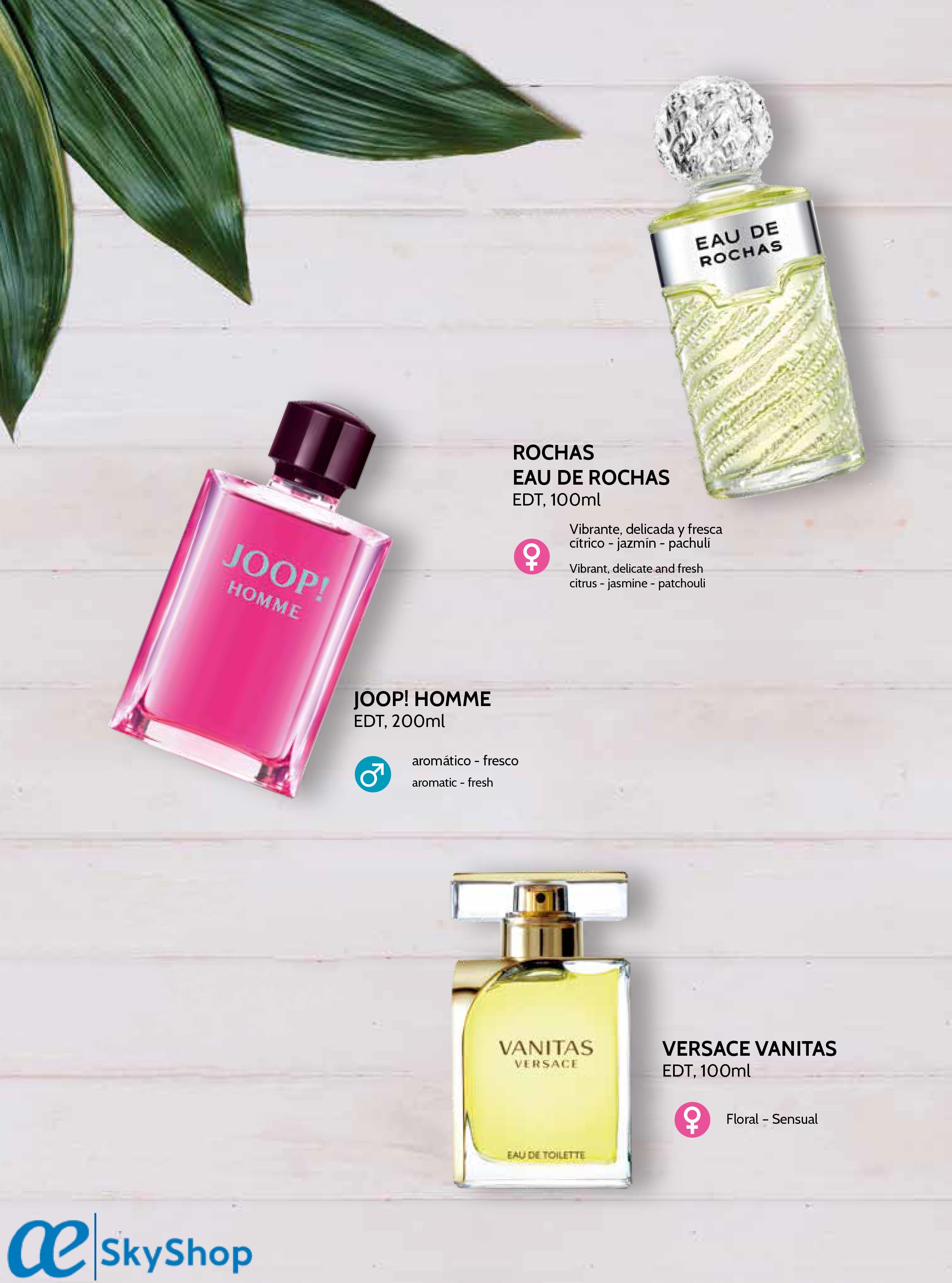 perfumes venta a bordo, venta a bordo o