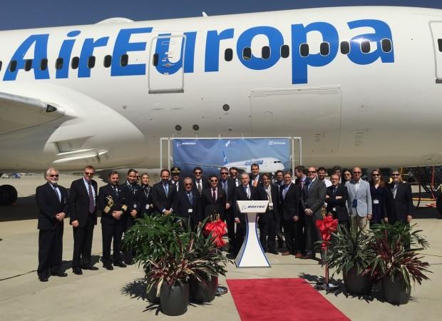 Equipo de Air Europa 787