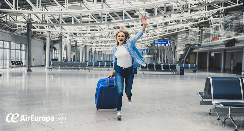 equipaje facturado, equipaje de mano, equipaje especial, air europa