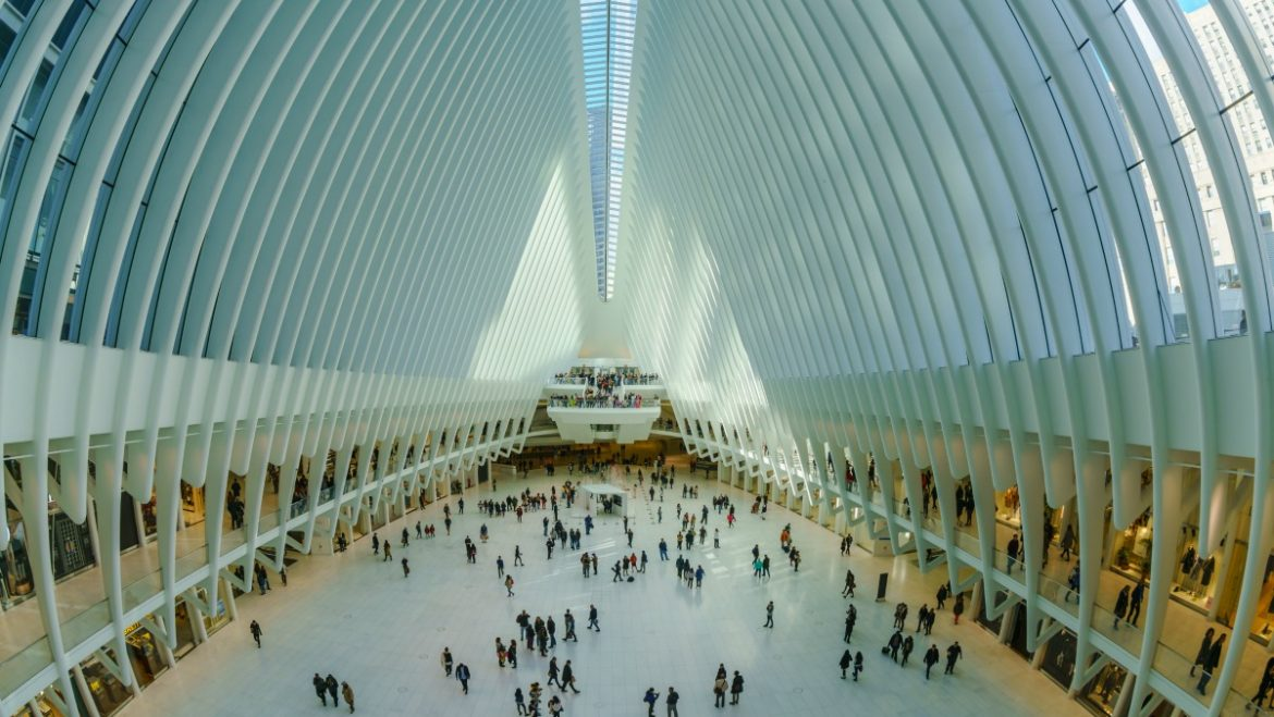 oculus, santiago calatrava, world trace center, nueva york, air europa