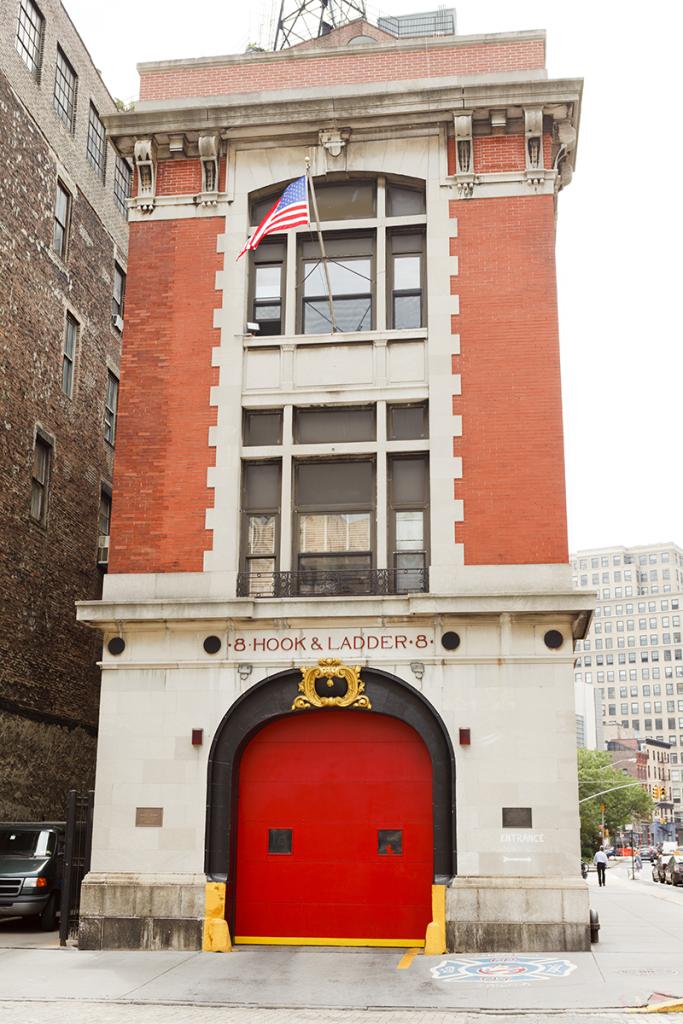 etación de bomberos, nueva york, película cazafantasmas