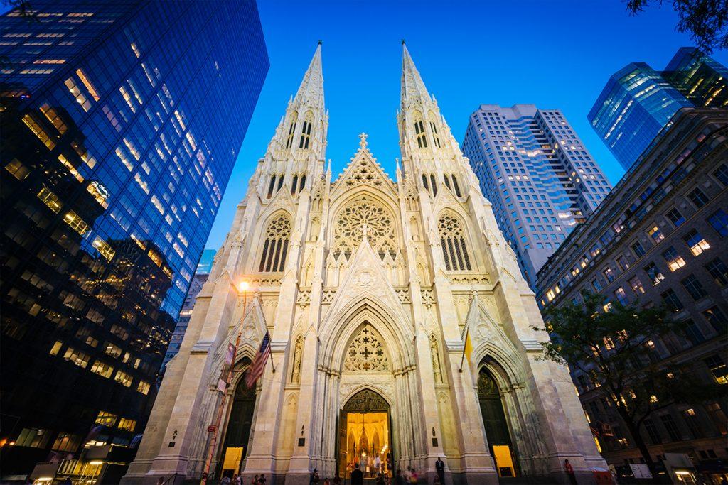 nueva york, catedral de san patricio