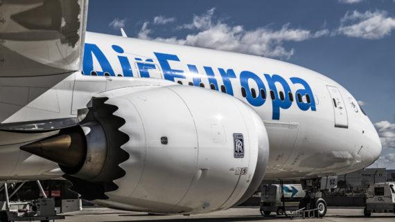 boeing 787, dreamliner, efecto dreamliner, air europa