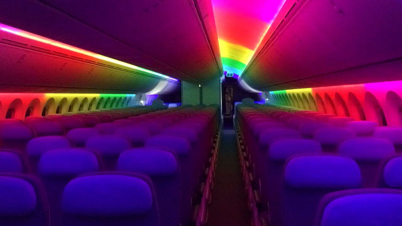iluminacion led, efecto dreamliner