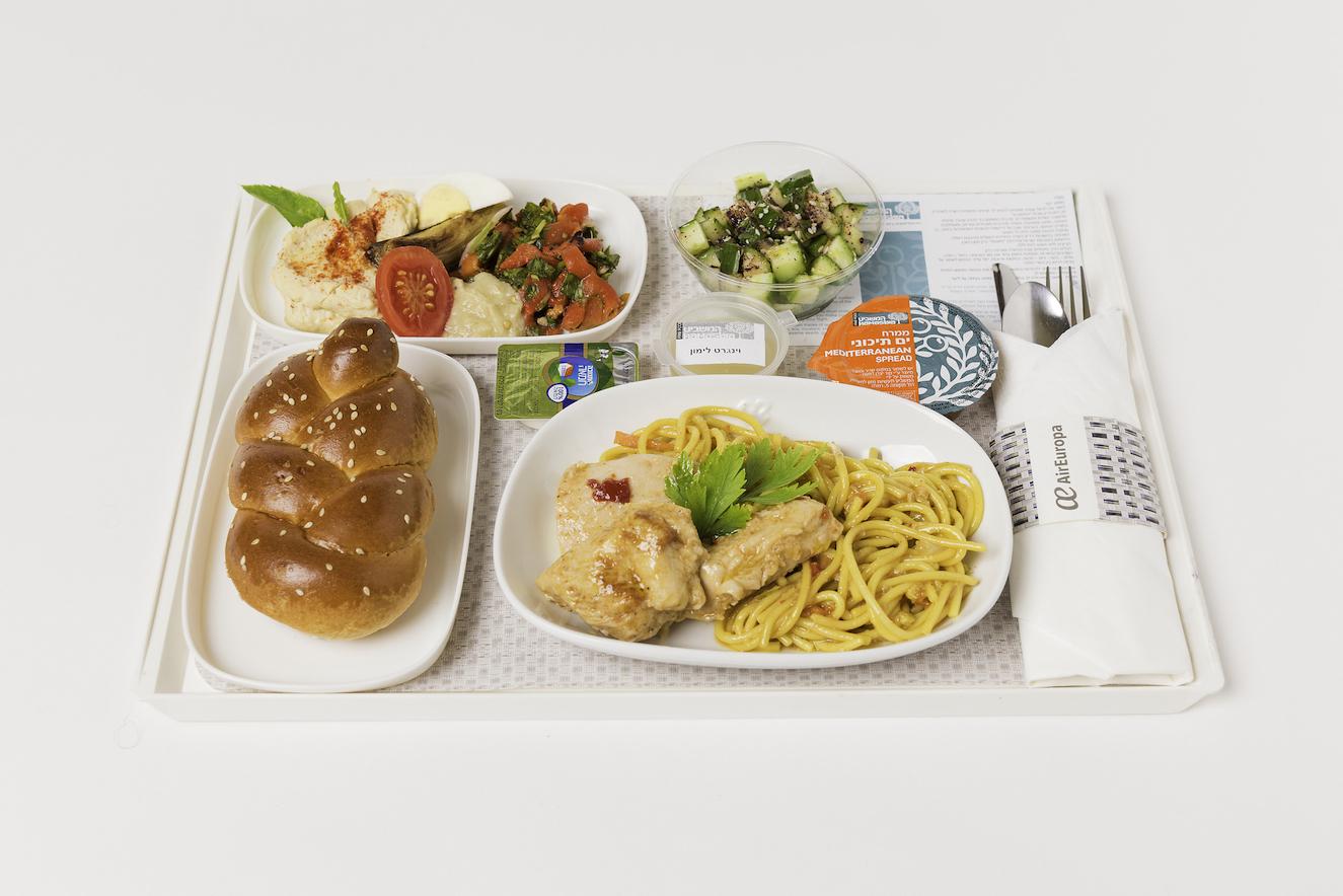 New Menus On Board Our Tel Aviv Flights Air Europa Blog
