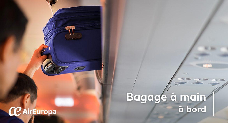 pas mal 7a929 d86a9 Bagages à main à bord - Billete 996