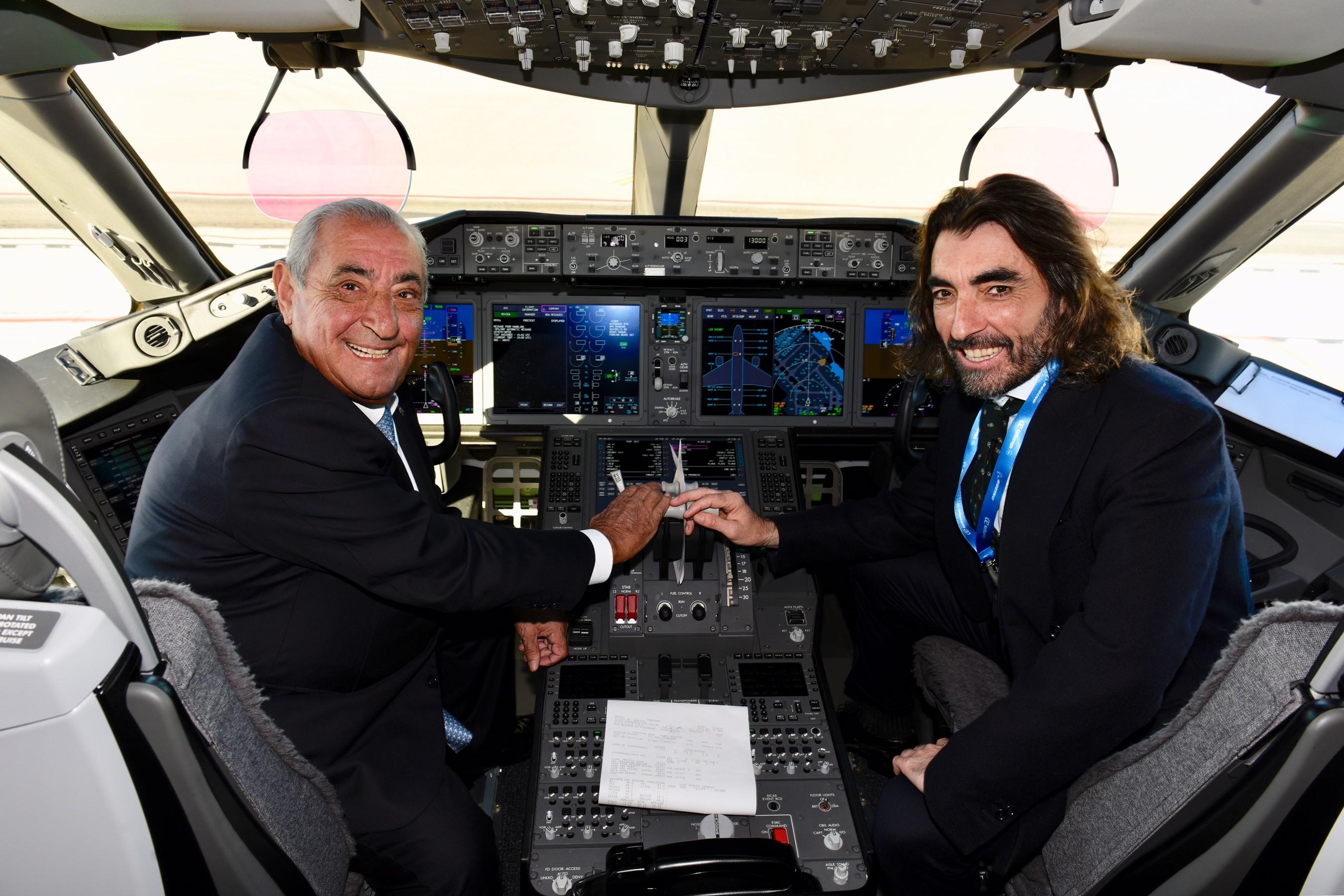 juan jose hidalgo, presidente globalia, air europa, dreamliner, 787, boeing