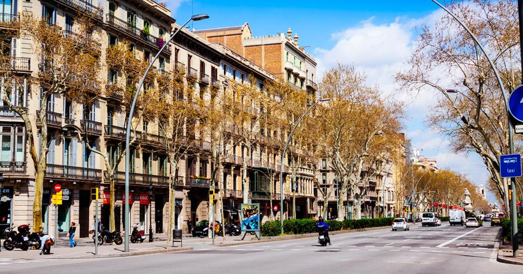 Barcelona, Eixample