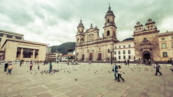 Bogotá, Plaza de Bolívar, Colombia, ciudad de Bogota
