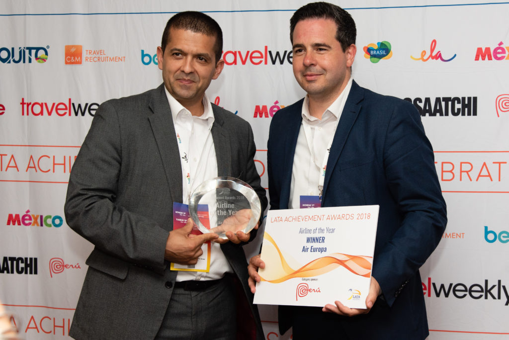 Latam Uk Awards, air europa UK