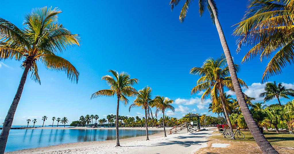 playa, Miami, niños