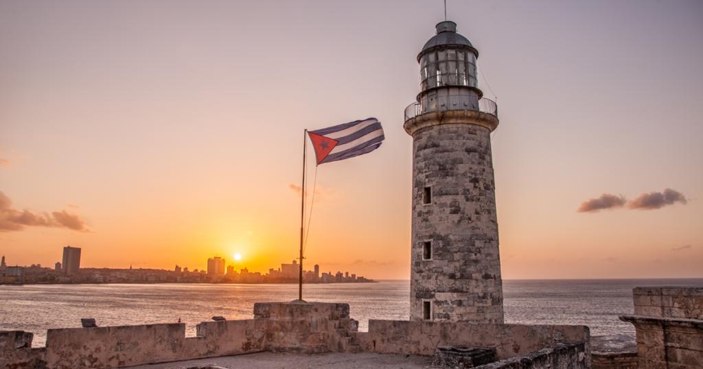 puesta de sol, El Malecón, La Habana, Cuba