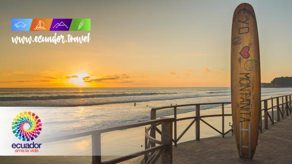 Surf en Ecuador, Montañita, playas para hacer surf en Ecuador