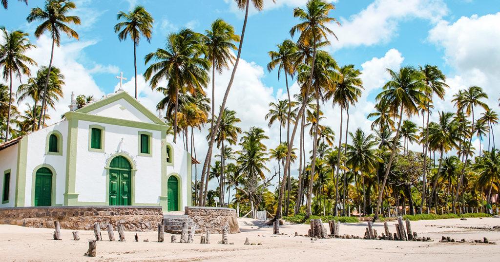 playas en pernambuco, playa carneiros, brasil, pernambuco, recife, air europa