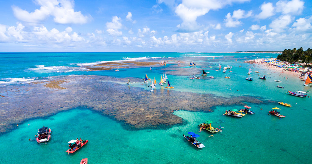 porto de galinhas, recife, brasil, playas en pernambuco, air europa