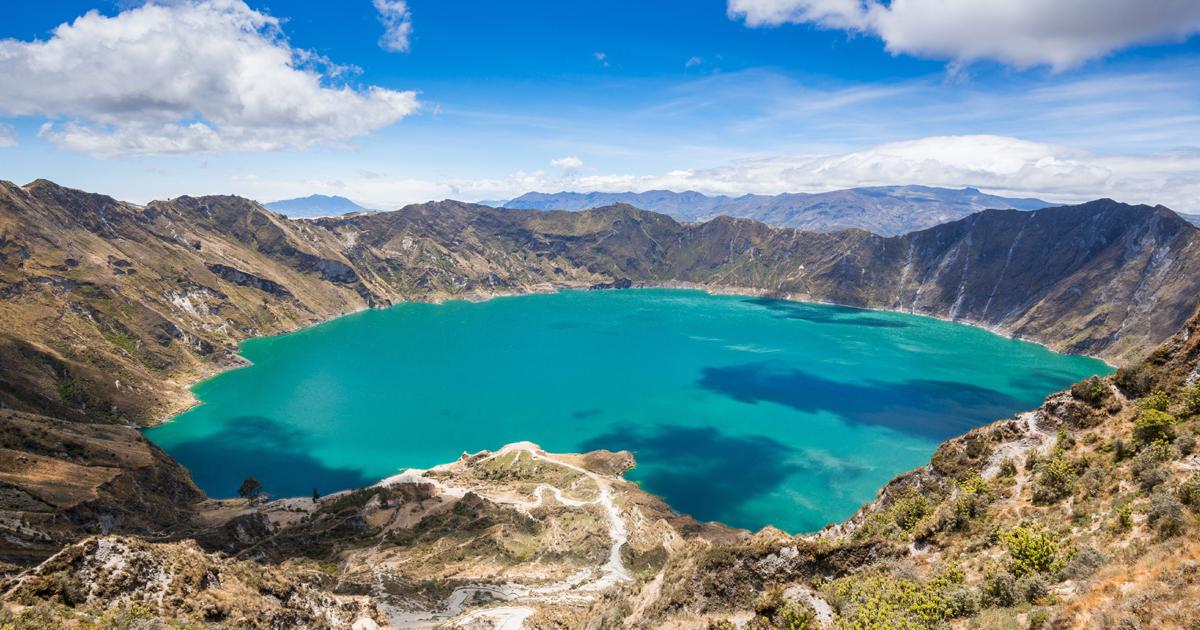 Quilotoa, Ecuador, volcan, Quito, Guayaquil