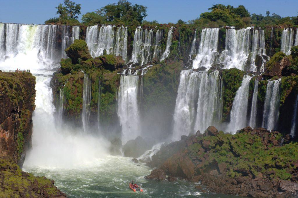 puerto iguazu, iguazu waterfalls, argentina, parque iguazu