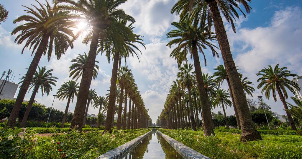 parque de la liga arabe, casablanca, marruecos