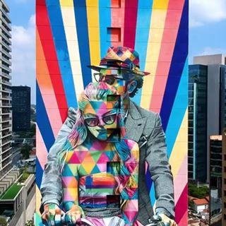destinos street art, air europa